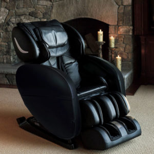 black massage chair from Infinity