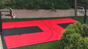 make your backyard into a private sport park